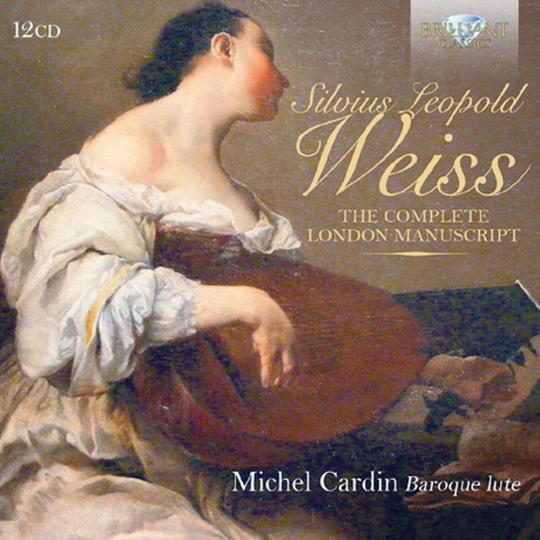 Lautenmusik - Das komplette Londoner Manuskript 12 CDs