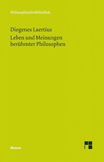 Leben und Meinungen berühmter Philosophen