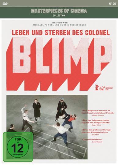 Leben und Sterben des Colonel Blimp. DVD.