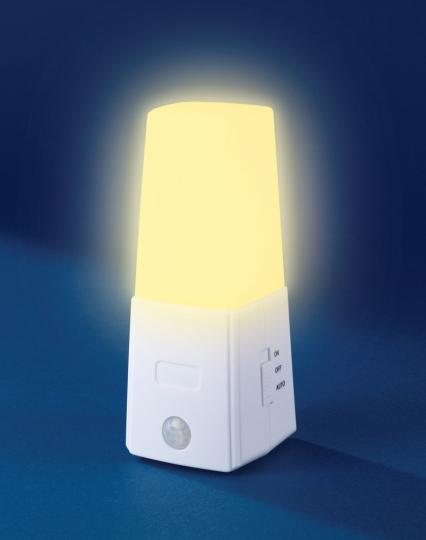 LED-Unterbett-Licht mit Bewegungssensor, 2er-Set.
