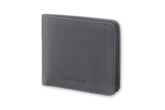 Leder-Brieftasche »Lineage«, blaugrau.