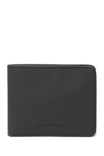 Leder-Brieftasche »Lineage«, schwarz.