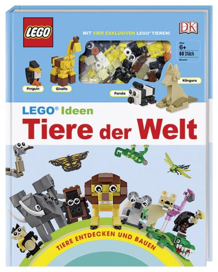 Lego Ideen Tiere der Welt. Mit vier exklusiven Lego Tieren.