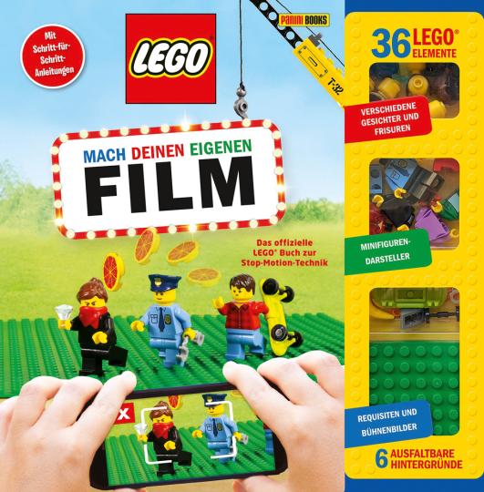 LEGO® Mach deinen eigenen Film. Das offizielle LEGO® Buch zur Stop-Motion-Technik.