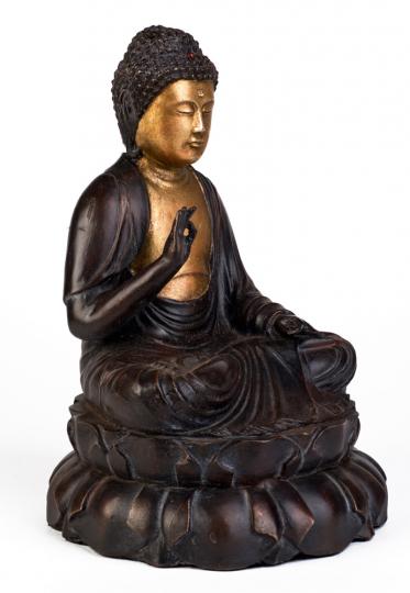 Lehrender Buddha. Japan, um 1800 n. Chr.
