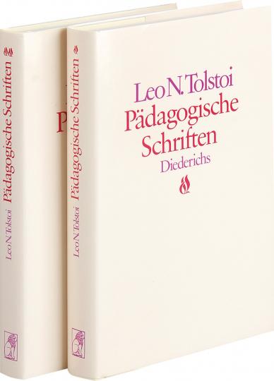 Leo N. Tolstoi. Pädagogische Schriften. 2 Bände.