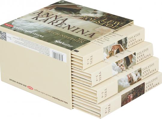 Leo Tolstoi. Anna Karenina. Hörbuch. 30 CDs.