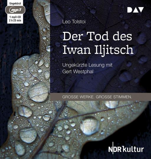 Leo Tolstoi. Der Tod des Iwan Iljitsch. mp3-CD.