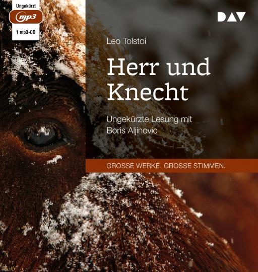 Leo Tolstoi. Herr und Knecht. 1 mp3-CD.