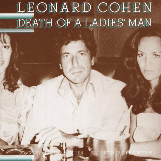 Leonard Cohen. Death Of A Ladies' Man. CD.