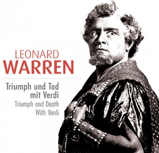 Leonard Warren. Triumph und Tod mit Verdi. 10 CD-Set.