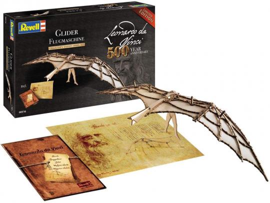 Leonardo da Vinci. Flugmaschine. Holzbausatz.
