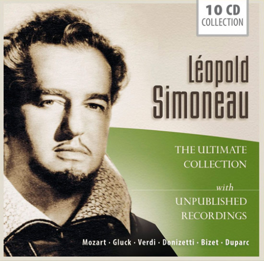Léopold Simoneau. The Ultimate Collection. 10 CD-Box.