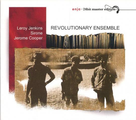 Leroy Jenkins, Sirone, Jerome Cooper. Revolutionary Ensemble. CD.