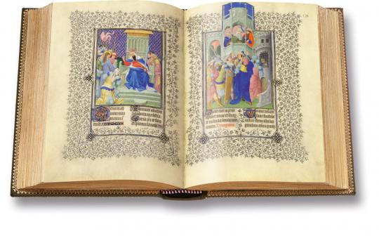 Les Belles Heures du Duc de Berry. Faksimile und Kommentarband. Limitierte und nummerierte Auflage.