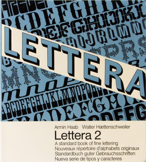 Lettera 2. Standardbuch guter Gebrauchsschriften.