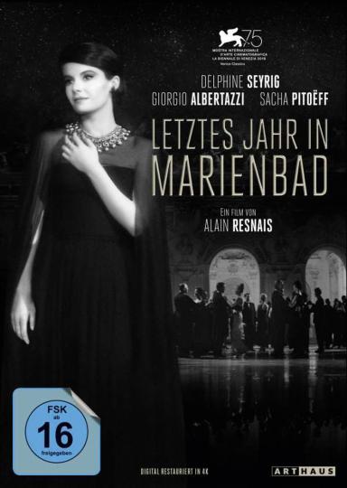 Letztes Jahr in Marienbad (Special Edition). DVD.