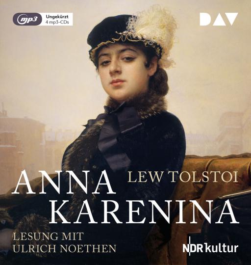 Lew Tolstoi. Anna Karenina. 4 mp3-CDs.