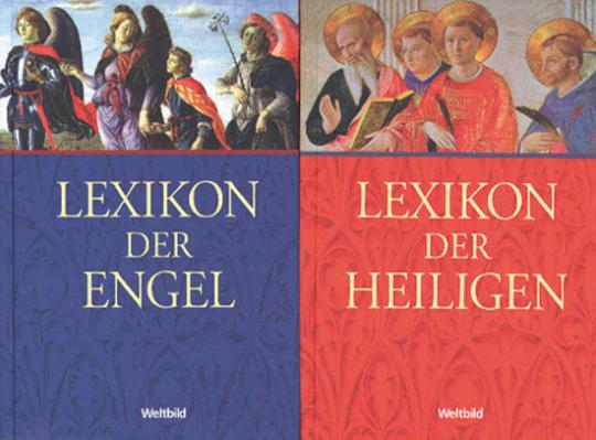 Lexikon der Engel. Lexikon der Heiligen. 2 Bände.