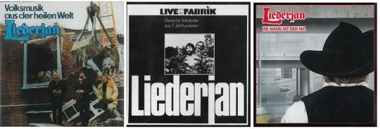 Liederjan. Drei legendäre Alben. 3 CDs.