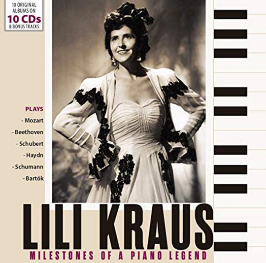 Lili Kraus – Originalaufnahmen 10 CDs