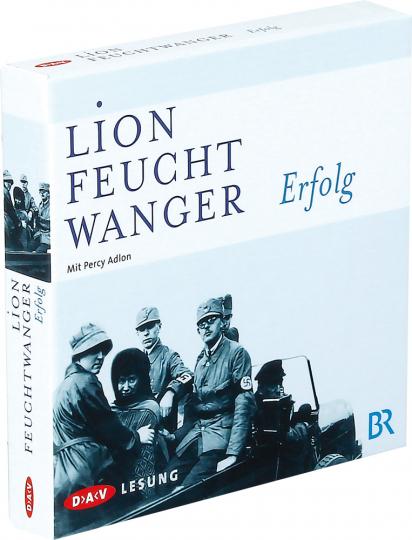 Lion Feuchtwanger. Erfolg. Hörbuch. 6 CDs.