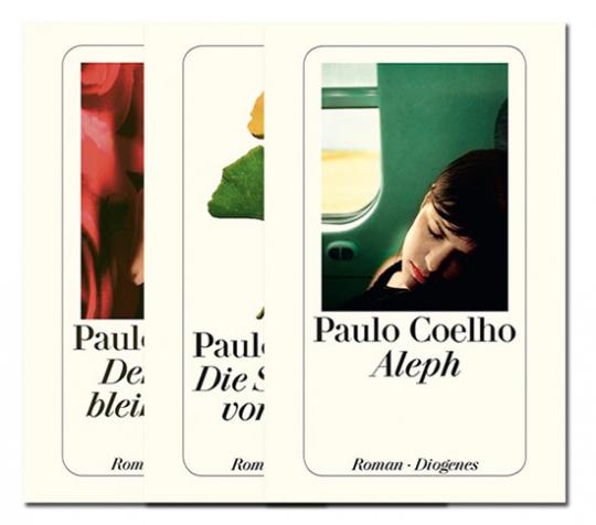 Literarische Lebenshilfe. Drei Romane von Paulo Coelho im Paket.