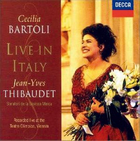 Live in Italy CD