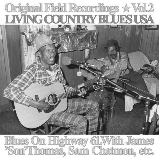 Living Country Blues USA Vol. 2. Blues On Highway 61. Vinyl LP.
