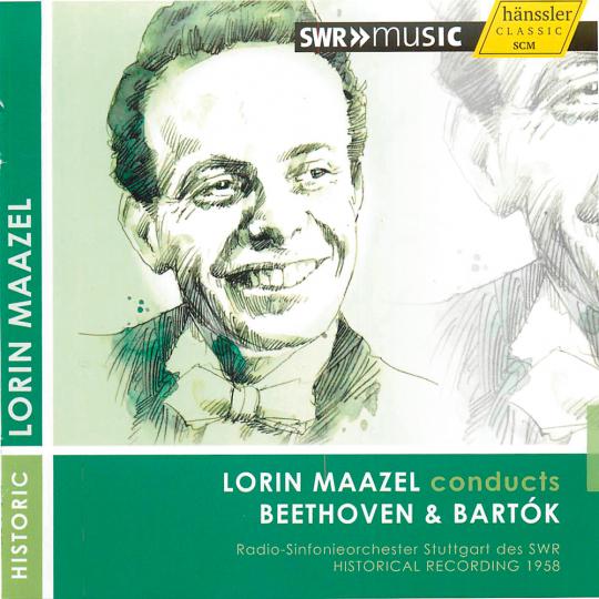 Lorin Maazel dirigiert Beethoven & Bartók. CD.