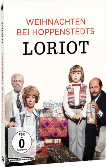 Loriot - Weihnachten bei Hoppenstedts. DVD.