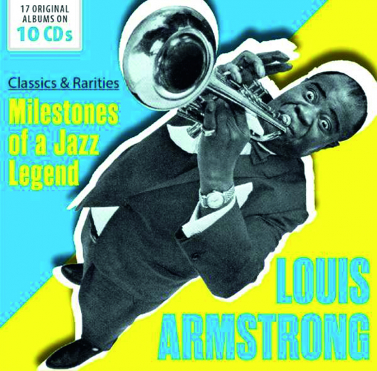 Louis Armstrong. Classics And Rarities. 10 CDs.