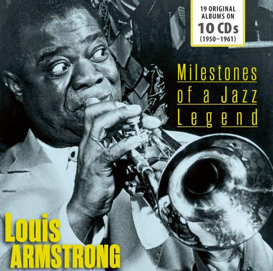Louis Armstrong. Milestones of a Jazz Legend. 10 CD-Set.