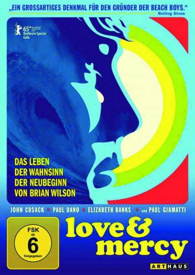 Love & Mercy. DVD.