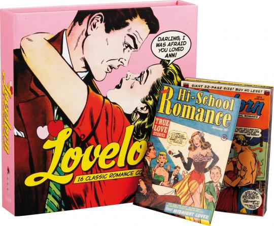 Lovelorn 16 Classics Romance Comic Magnets.