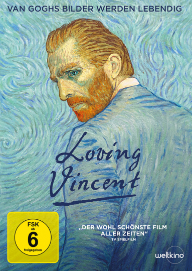 Loving Vincent. DVD.