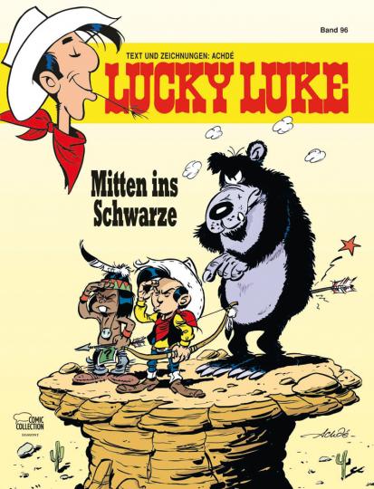 Lucky Luke 96. Mitten ins Schwarze.