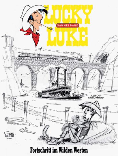 Lucky Luke. Fortschritt im Wilden Westen. Sammelband III.