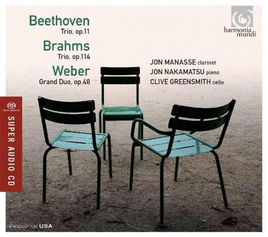 Ludwig van Beethoven. Klarinettentrio op.11. Hybrid-SACD.