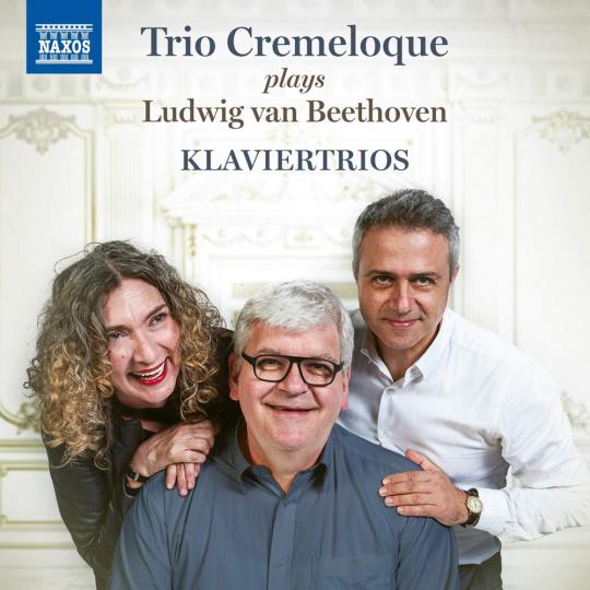 Ludwig van Beethoven. Klaviertrios. CD.