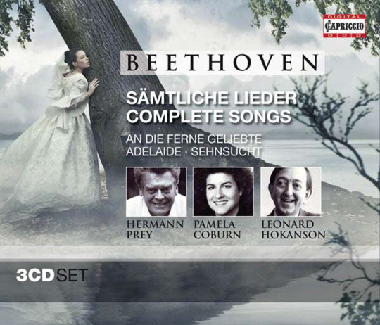 Ludwig van Beethoven. Sämtliche Lieder. 3 CDs.