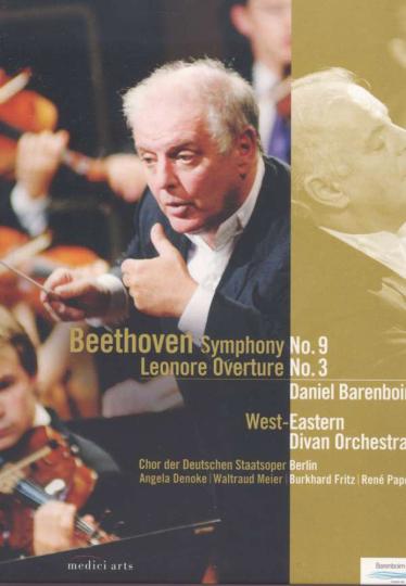 Ludwig van Beethoven. Sinfonie Nr. 9. DVD.