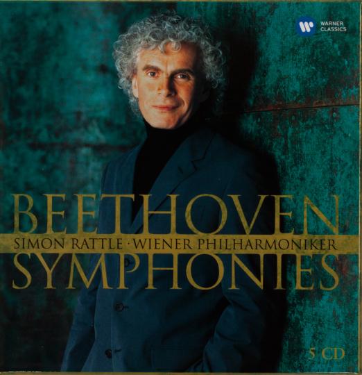 Ludwig van Beethoven. Symphonien Nr.1-9. 5 CDs.