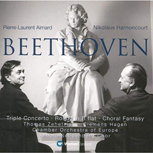 Ludwig van Beethoven. Tripelkonzert op. 56. CD.