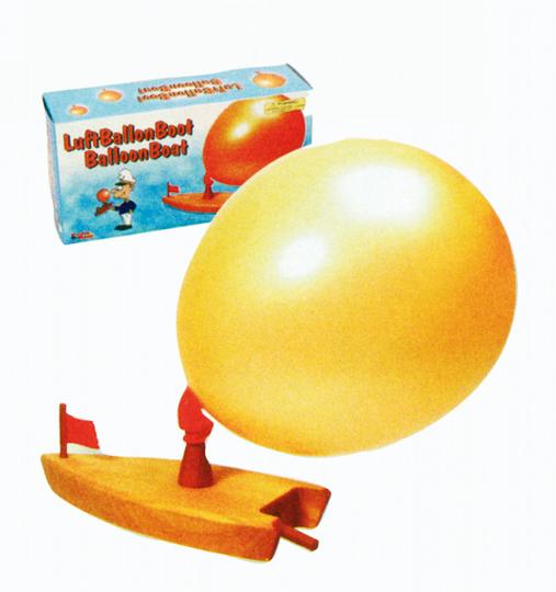 Luftballon-Boot