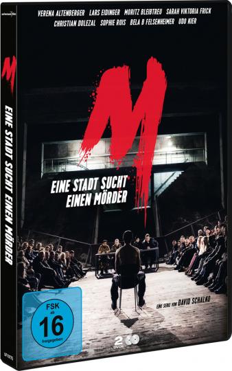 M - Eine Stadt sucht einen Mörder (TV-Serie). 2 DVDs.