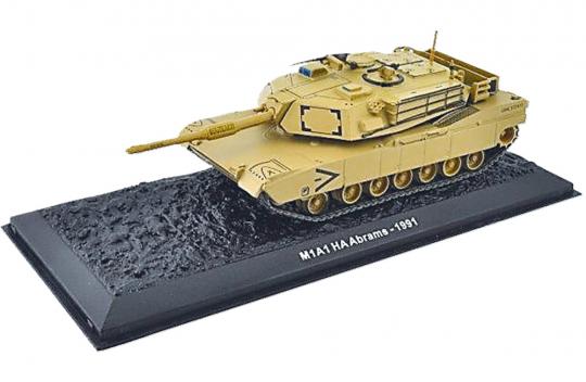 M1A1HA Abrams - Modell 1:72