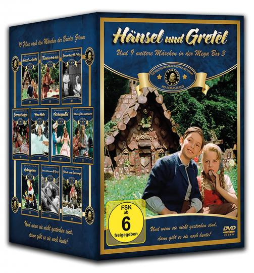 Märchen Klassiker Mega Box. 10 DVDs.