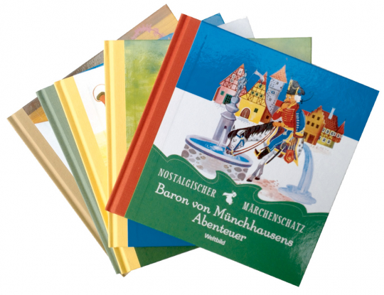 Märchenschatz-Paket 5 Bände