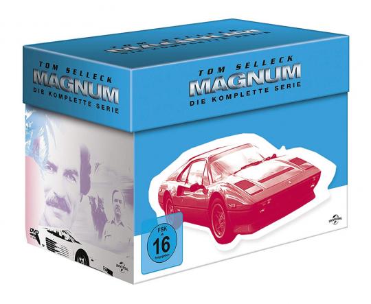 Magnum (Komplette Serie). 44 DVDs.